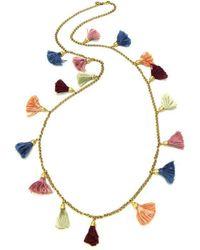 Ben-Amun - Venetian Breeze Tassel Necklace - Lyst