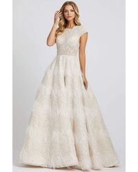 Mac Duggal Evening - White