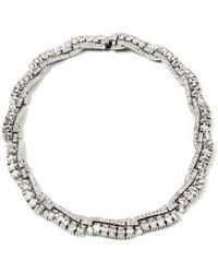 Ben-Amun - Crystal Deco Detailed Collar Necklace - Lyst
