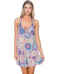 Sunsets Swimwear - Riviera Dress Cover Up Mamb - Lyst