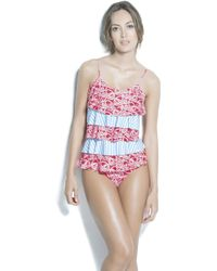 Estivo Swimwear - Removable Cups Ruffled One Piece /new/ - Lyst
