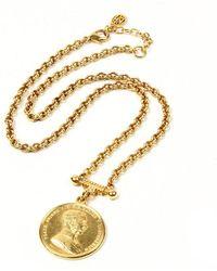 Ben-Amun | Moroccan Coin Pendant Necklace | Lyst