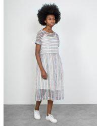 YMC | Stripe Perhacs Dress | Lyst