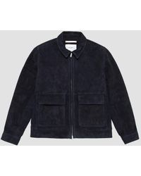 Norse Projects - Tyge Suede Jacket - Lyst