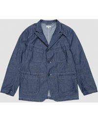 Engineered Garments Bedford Jacket 8oz Cone Denim - Blue