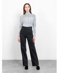 Rachel Comey Long Harlan Pant Charcoal - Gray