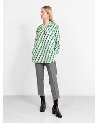 Christian Wijnants Tessa Shirt Mint - Green