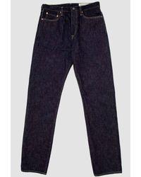 Kapital 14oz Denim 5 Pocket Monkey Cisco Jeans - Blue
