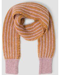 Rachel Comey - Fuzzy Stripe Sleeve Scarf - Lyst