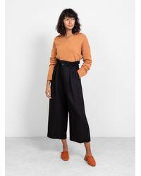Pas De Calais Paperbag Waist Trousers - Black