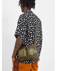 Porter Force Shoulder Bag Olive Drab - Multicolor