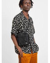 Porter Tanker Square Shoulder Bag Black