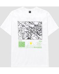 Brain Dead Biorhythms T-shirt White