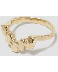 Odette New York - Stepped Ring - Lyst
