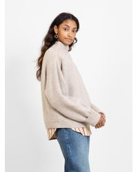 Humanoid Rody Knit Sweater Ritual Beige - Natural
