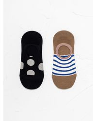 Hansel From Basel Fundamental Liner Socks Multi - Multicolour