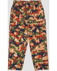 Garbstore Storage Pant Rust Camouflage - Multicolour