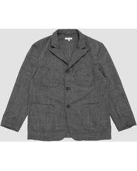 Engineered Garments Nb Jacket Sharkskin Grey