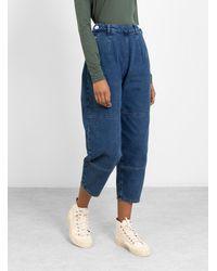SIDELINE River Jeans Washed Indigo - Blue