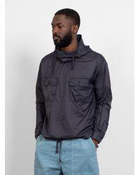 Engineered Garments - Nylon Taffeta Cagoule Shirt Dark Navy - Lyst