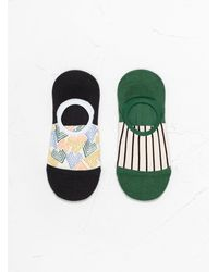 Hansel From Basel Bahaus Liner Socks - Black