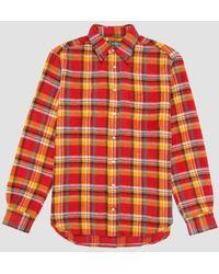 Gitman Brothers Vintage - Utah Triple Yarn Flannel Shirt - Lyst