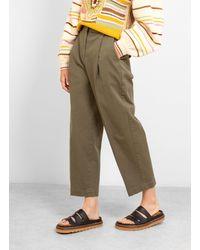 YMC Market Trousers - Green