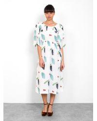 Rejina Pyo - Ruby Silk Dress - Lyst