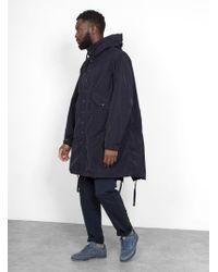 Engineered Garments Highland Parka - Blue