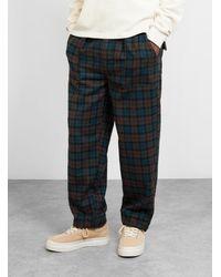 Garbstore Ruffel Trouser Check - Multicolor