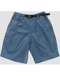 Gramicci Summer Corduroy Shorts Blue