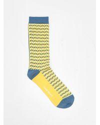 Henrik Vibskov Pickled Socks Lemon - Yellow