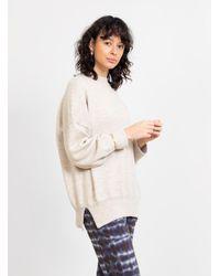 Lauren Manoogian Wide Crewneck Sweater Hessian - Multicolor
