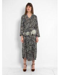 Anntian - Printed Dress - Lyst