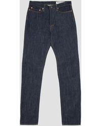 Kapital 14oz Denim 5 Pocket Stone M's Jeans - Blue