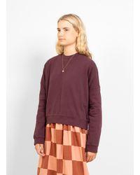 YMC Almost Grown Sweatshirt - Purple