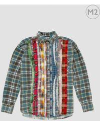 Needles - Rebuild Ribbon Flannel Shirt - Lyst