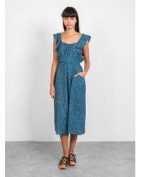 Apiece Apart Highland Jumpsuit - Blue