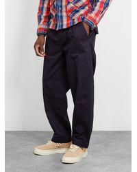 Garbstore Ruffel Trouser Navy - Blue