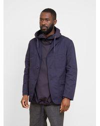 Engineered Garments Bedford Jacket Cotton Ripstop Dark Navy - Blue