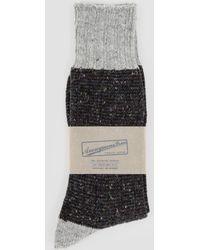 Anonymous Ism - Tweed Nep Sock - Lyst