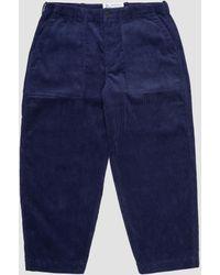 Garbstore Ruffle Pant - Blue
