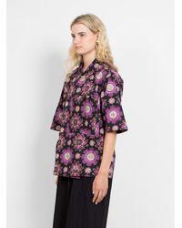 Rachel Comey Demo Shirt Black Multi - Multicolour