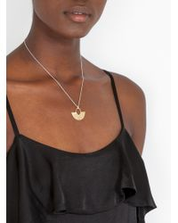 Odette New York - Aalto Necklace Brass And Silver - Lyst