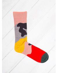 Bonne Maison - Camouflage Socks - Lyst