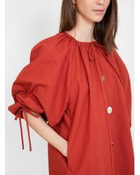 Rejina Pyo Scout Dress Rust - Red
