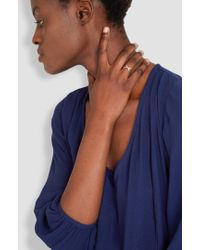Helena Rohner | Thin Silver Wire Ring | Lyst