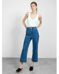 Apiece Apart Merida Pant - Blue