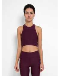 Outdoor Voices - Slashback Crop Top - Lyst