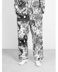 Brain Dead Wild Things Pajama Pants Black & White